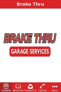 Brake Thru poster