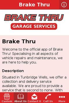 Brake Thru apk screenshot