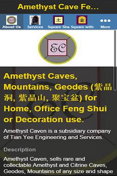 Amethyst Cave Feng Shui poster