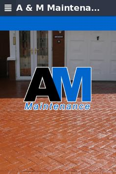 A & M Maintenance poster