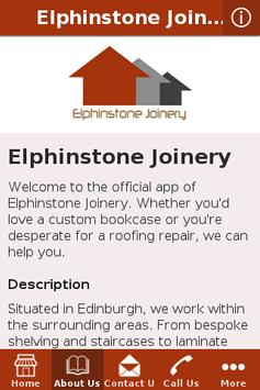 Elphinstone Joinery apk screenshot