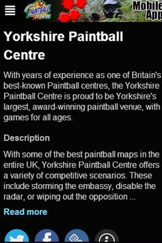 Yorkshire Paintball Centre apk screenshot
