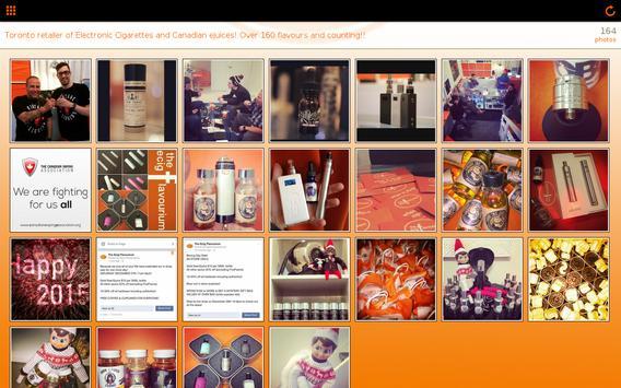 E-Cig Flavourium apk screenshot