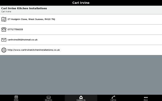Carl Irvine apk screenshot
