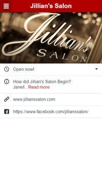 Jillian's Salon apk screenshot