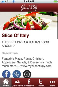 Slice of Italy poster