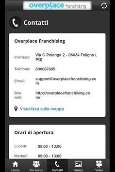 Overplace Franchising apk screenshot