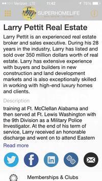 Larry Pettit Real Estate poster