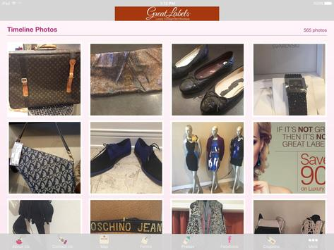 Great Labels Consignment apk screenshot
