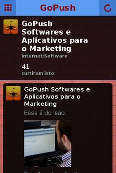 Aplicativos GoPush apk screenshot