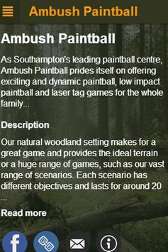 Ambush Paintball apk screenshot