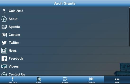 Arch Grants apk screenshot