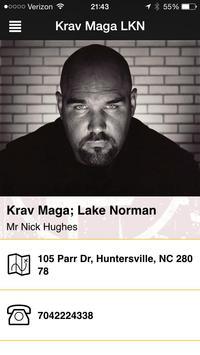 Warriors Krav Maga poster