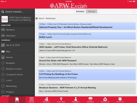 AEW Events apk screenshot