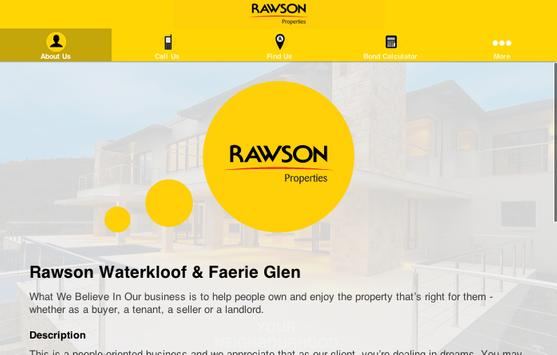 Rawson Properties Waterkloof apk screenshot