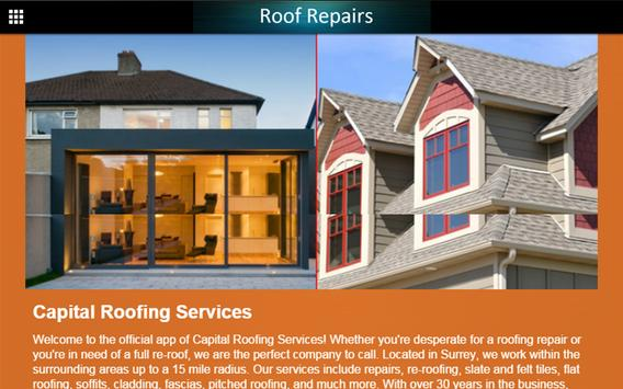 Roof Repairs apk screenshot