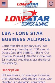 LBA poster