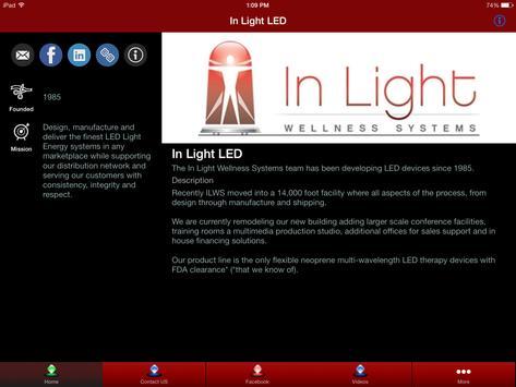 In Light LED by Pat Lamonica apk screenshot