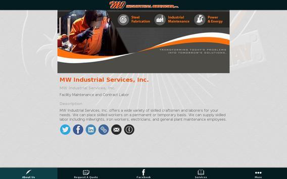 MW Services apk screenshot