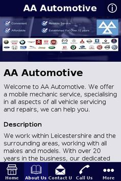 AA Automotive poster