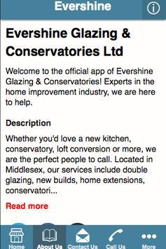 Evershine Glazing poster