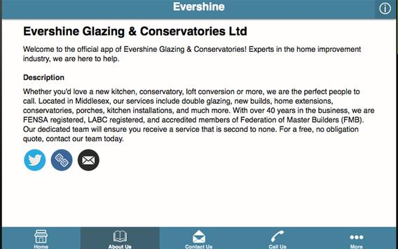 Evershine Glazing apk screenshot