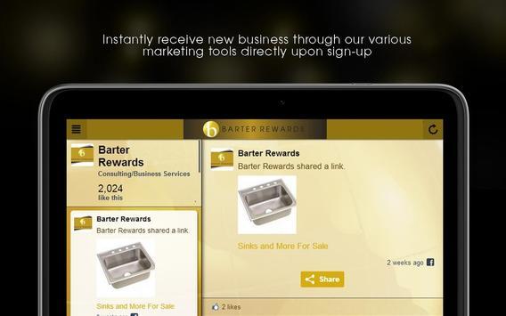 Barter Rewards apk screenshot