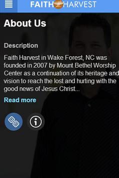 Faith Harvest poster