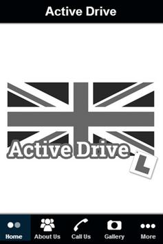 Active Drive Driver School poster