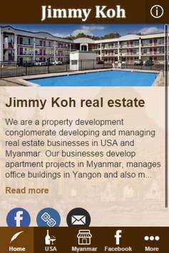 Jimmy Koh poster