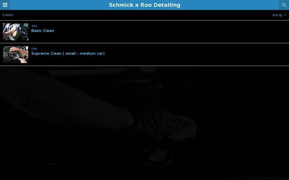 Schmick a Roo Detailing apk screenshot