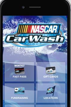 NASCAR Car Wash poster