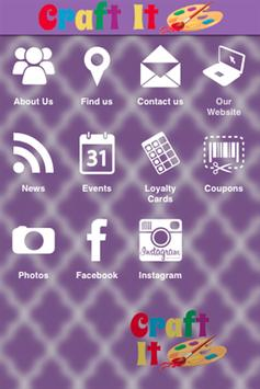 Craft It app poster