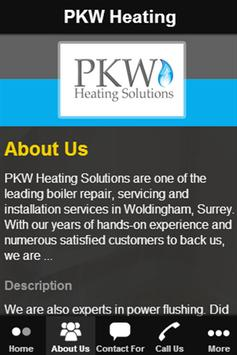 PKW Heating poster