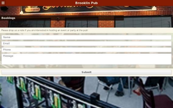 Brooklin Pub apk screenshot