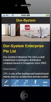 Dor System poster