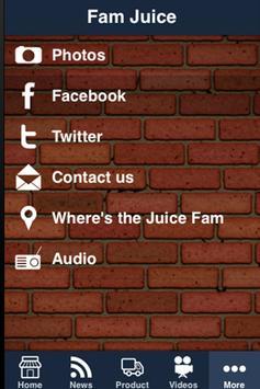 Fam Juice apk screenshot
