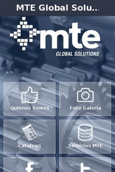 MTE Global Solutions poster