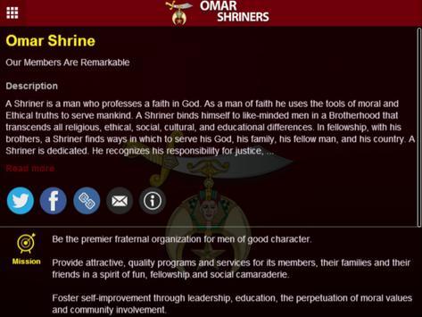 Omar Shrine Temple apk screenshot