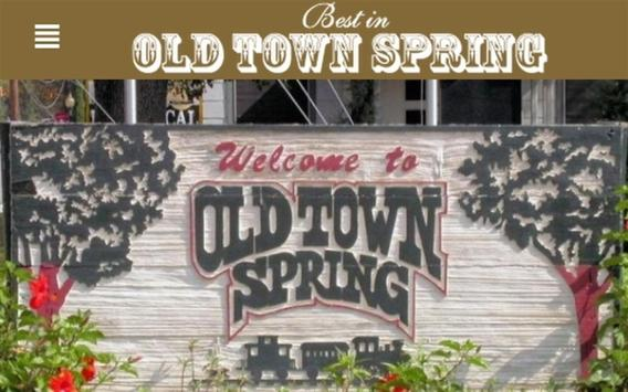 Best in Old Town Spring apk screenshot
