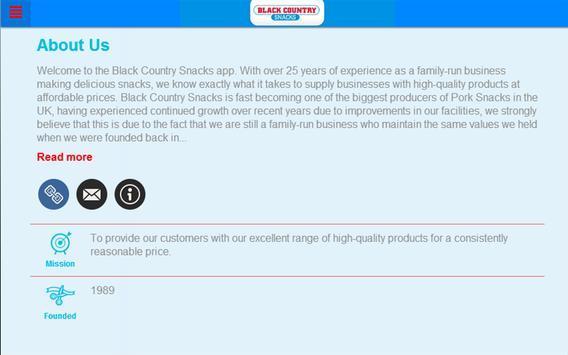 Black Country Snack apk screenshot