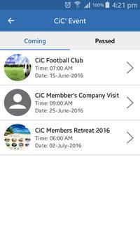 CiC apk screenshot