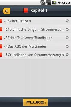 Fluke Messfibel App apk screenshot
