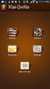 Quotes, Words and Status apk screenshot