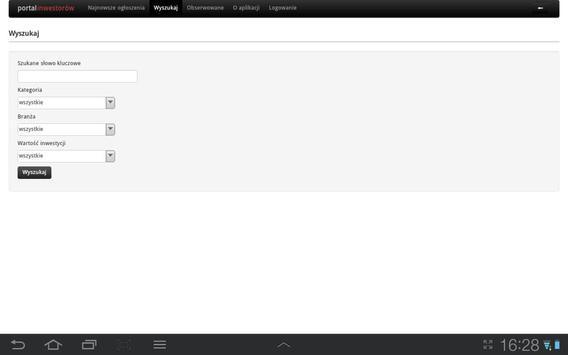 Inwestorzy.biz apk screenshot