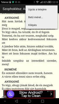 Szophoklész: Antigoné apk screenshot