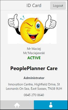 PeoplePlanner - Mobile apk screenshot