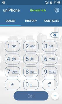 uniPhone apk screenshot