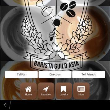 Barista Guild Asia poster