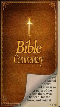 Bible Commentary (MHC) poster